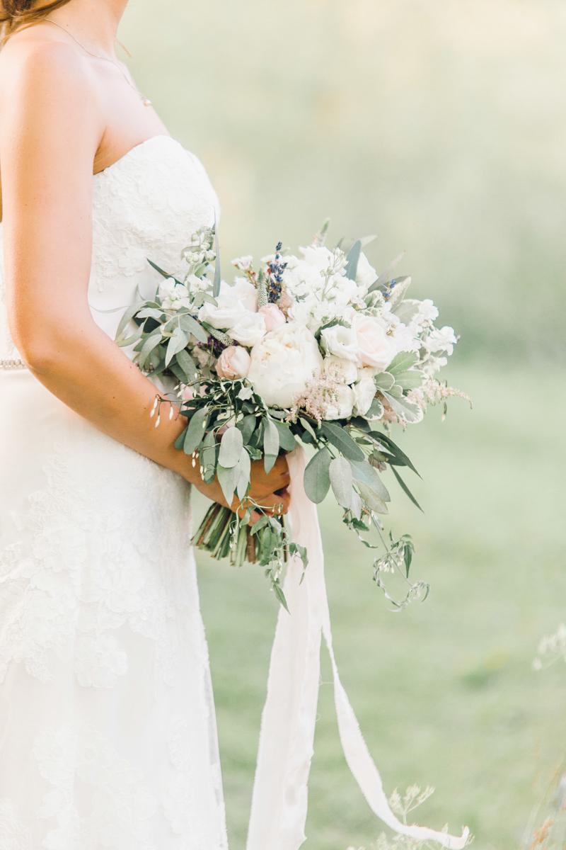 Soft Romance, summer wedding at Askham Hall